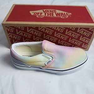 Vans Slip-On Aura Shift & True White Skate Shoes